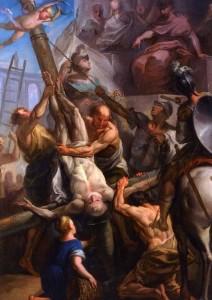 crocifissione-di-san-Pietro-di-carlo-giuseppe-ratti