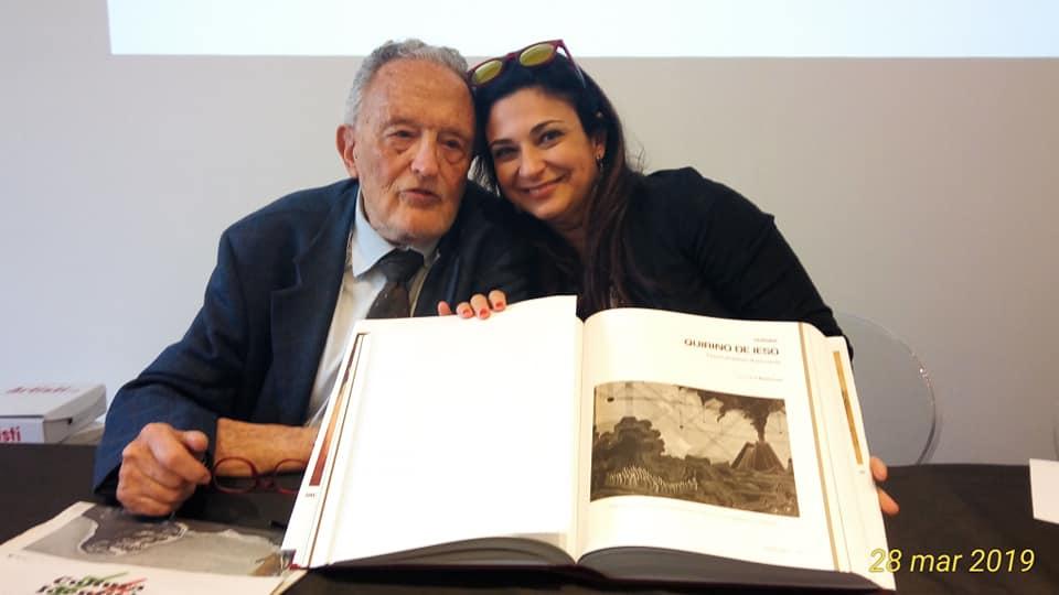 PRESENTAZIONE ANNUARIO ARTISTI PAOLO LEVI E LICIA ODDO