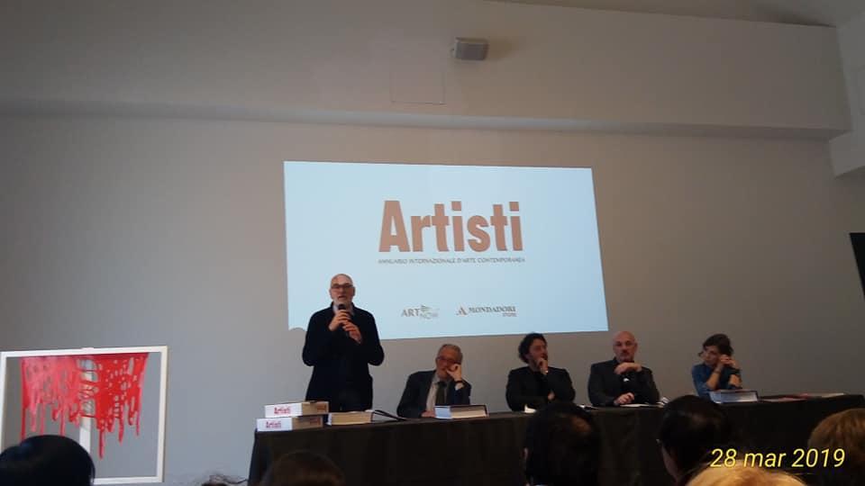 PRESENTAZIONE ANNUARIO ARTISTI